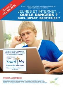 conf St Ho jeunes et internet